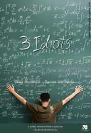 Movie Poster for 3 Idiots