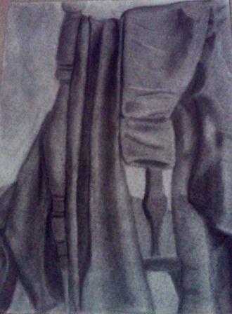 Art Class Final - Clothes on Chair