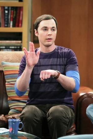 Sheldon on Big Bang Theory
