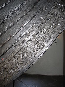 Oseberg Ship Detail