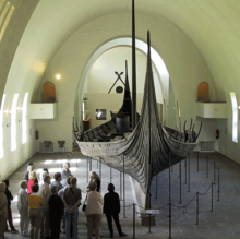 Oseberg Longship at Viking Ship Museum