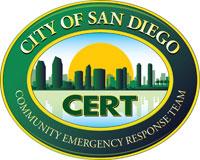 San Diego CERT Logo
