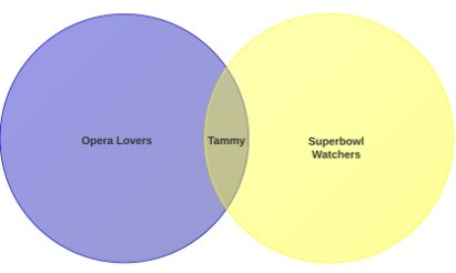 Venn Diagram - Opera and Superbowl