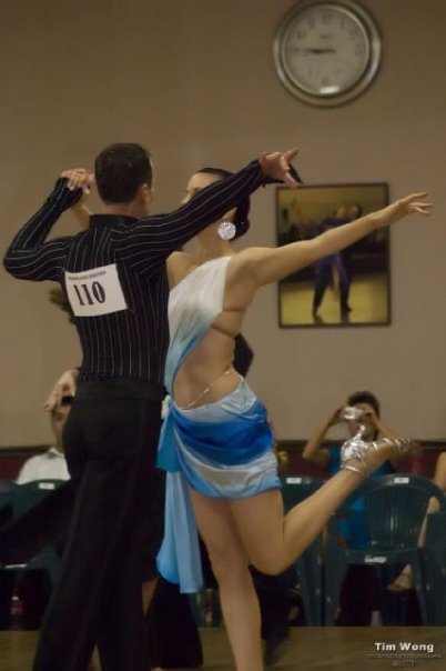 Latin Dance Shot