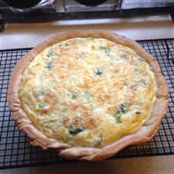 Cheese and Broccoli Quiche