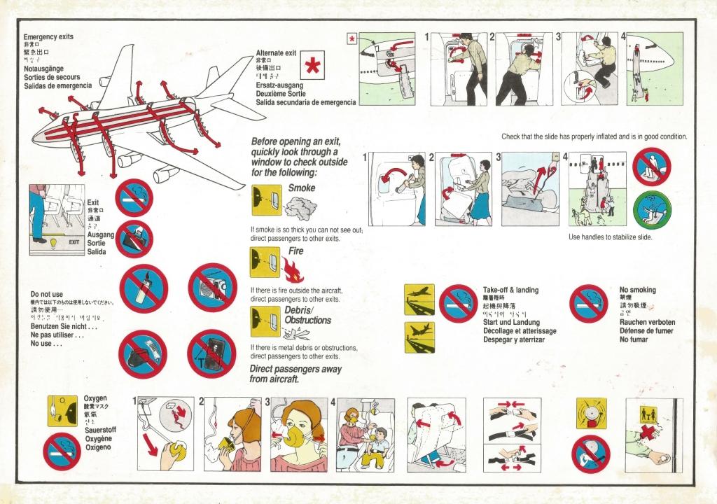 Flight Information Card