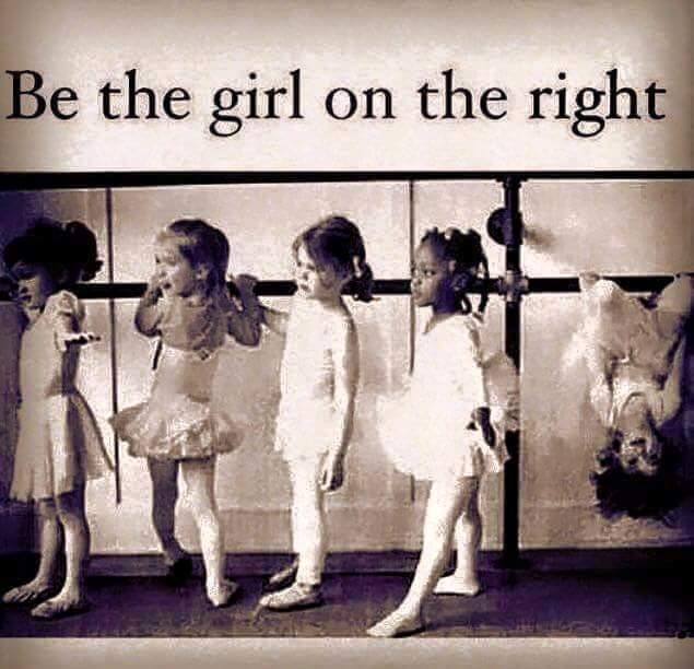 Girls at Ballet Barre