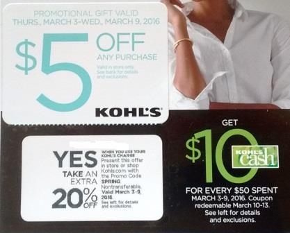 Kohls Sale