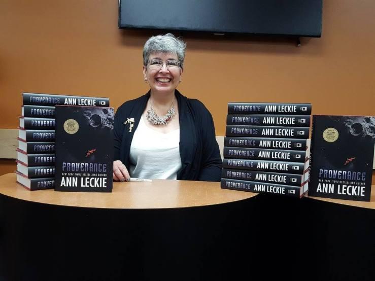 Ann Leckie at Mysterious Galaxy